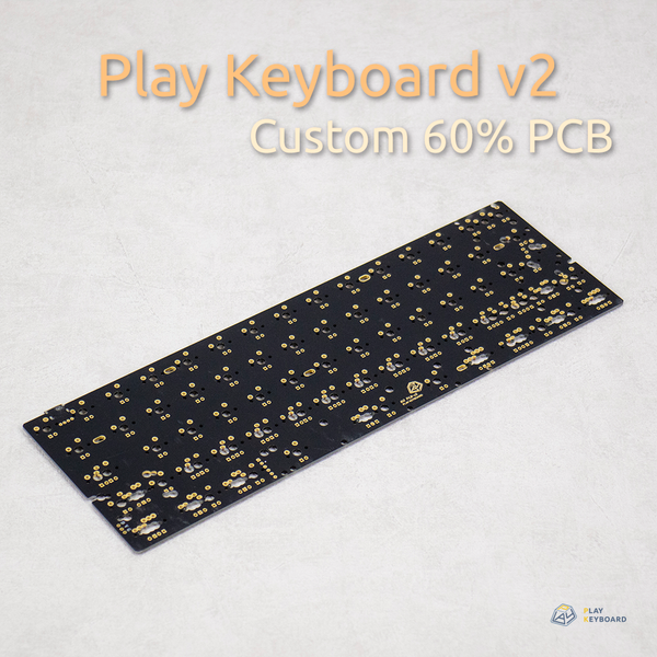 Play Keyboard60 v2 PCB - Matte Black