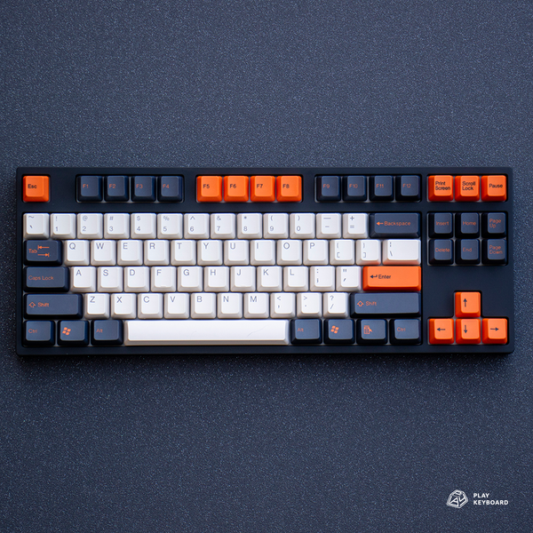 Carbon - ABS Doubleshot Keycaps