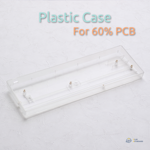 Transparent Plastic Case - 60% Keyboard Case