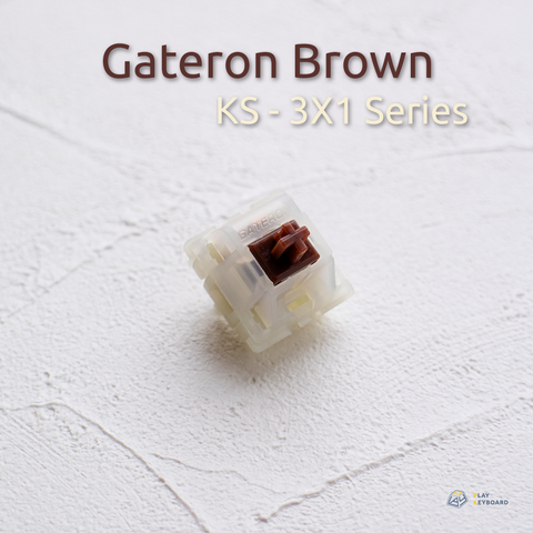 Brown Switch - Gateron (KS-3X1)