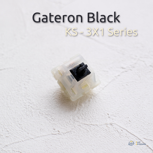 Black Switch - Gateron (KS-3X1)