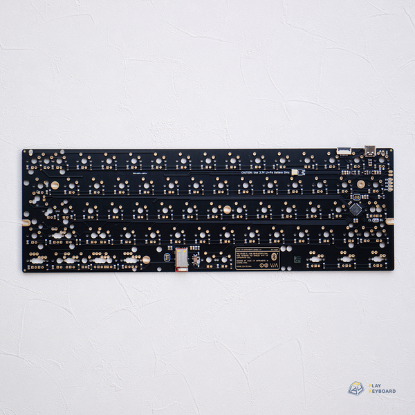 [GB] BIOI G60BLE PCB R2 (Default Version) - Custom 60% Bluetooth PCB