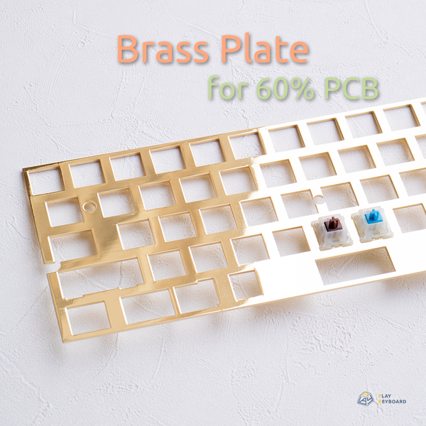 Brass Plate - for 60% PCB