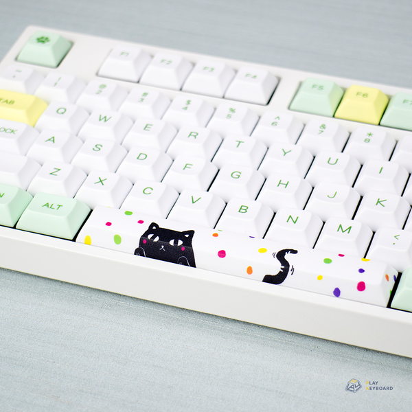 Peeking Cat - DSA PBT Dye-Sub Keyset