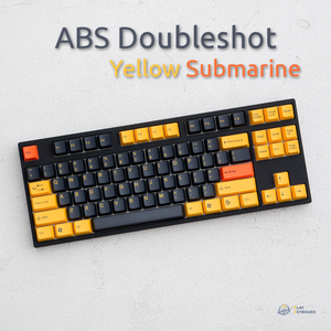Yellow Submarine - ABS Doubleshot Keycaps