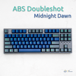 Midnight Dawn - Cubic ABS Doubleshot Keycaps