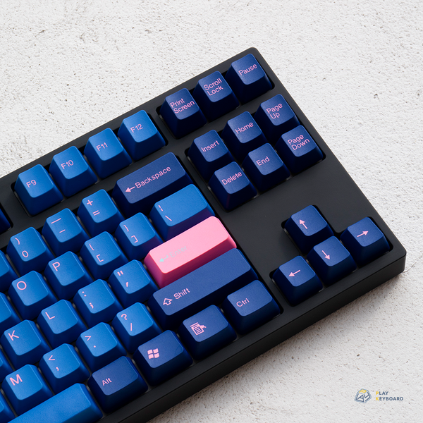 Blue & Pink - ABS Doubleshot Keycaps