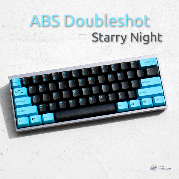 Starry Night - ABS Doubleshot Keycaps