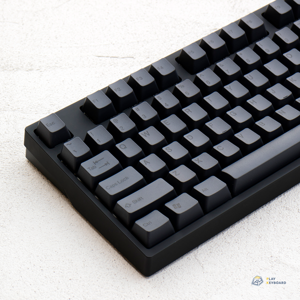 Black On Black - ABS Doubleshot Keycaps