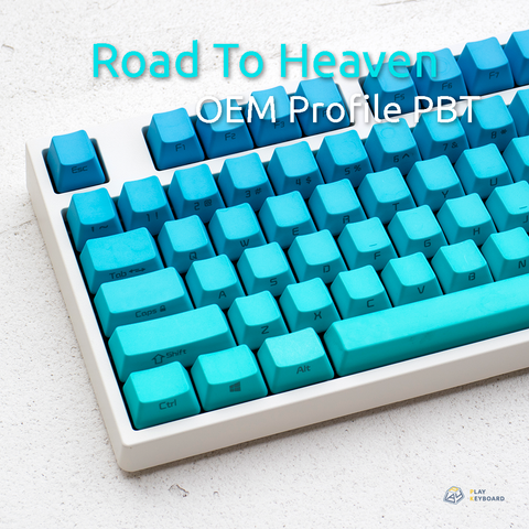 Road To Heaven - Gradating Dyed PBT Keycaps