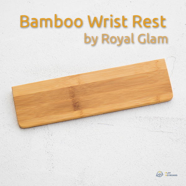 Bamboo Wirst Rests - by Royal Glam