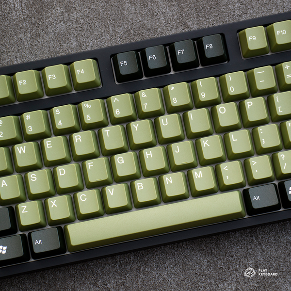 Army Green - ABS Doubleshot Keycaps