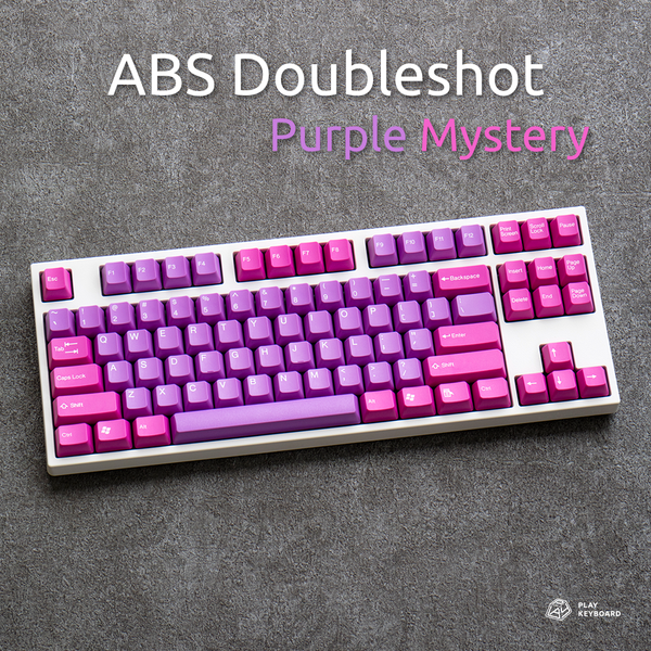 Purple Mystery - ABS Doubleshot Keycaps