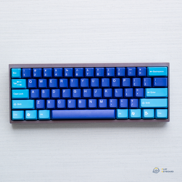 Blue Mystery - ABS Doubleshot Keycaps