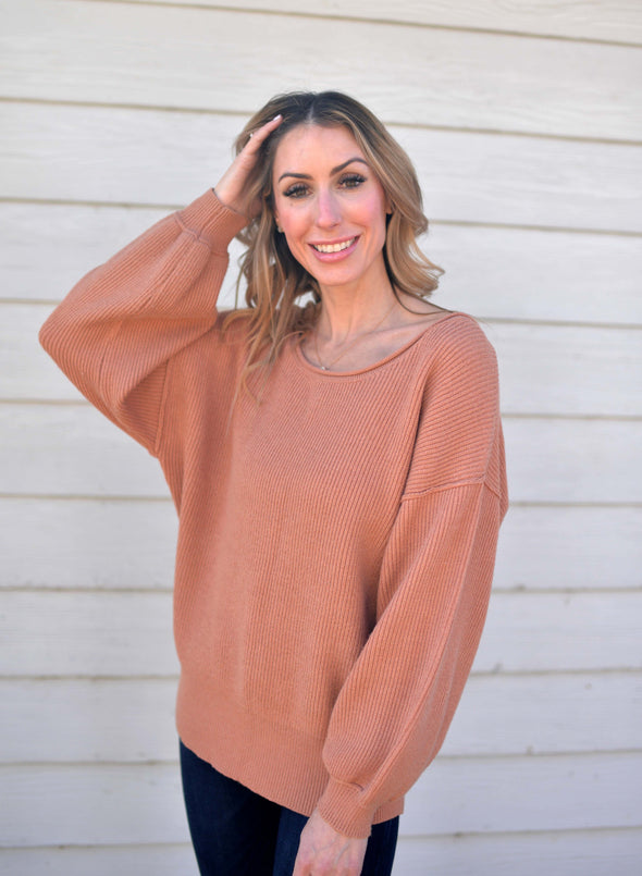 Salmon Comfy Sweater