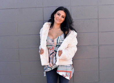 Faux Fur Polar Jacket