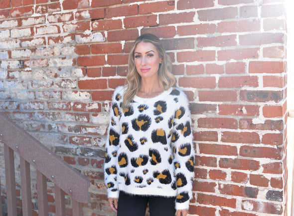 My Favorite Leopard Sweater