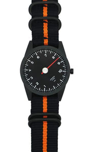 Black & Orange NATO Strap only