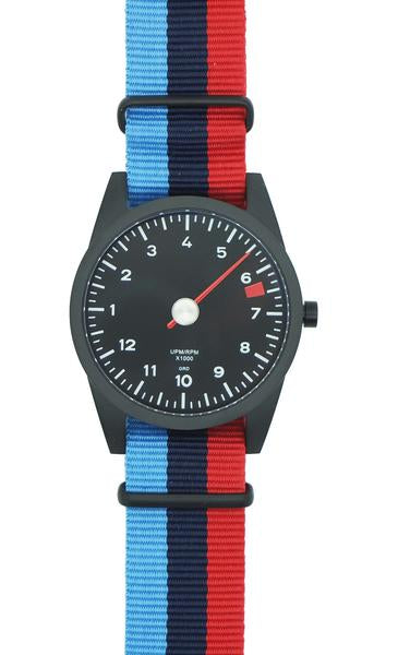 Red & Purple NATO Strap Only