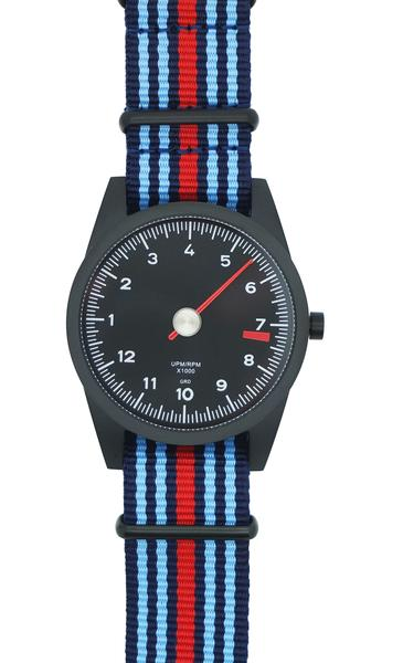 Red & Blue Small Striped NATO Strap Only