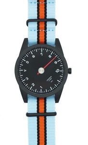 Light Blue & Orange NATO Strap Only