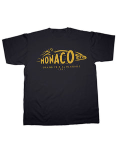 T-Shirt Monaco Automobile 1961 Retro Classic