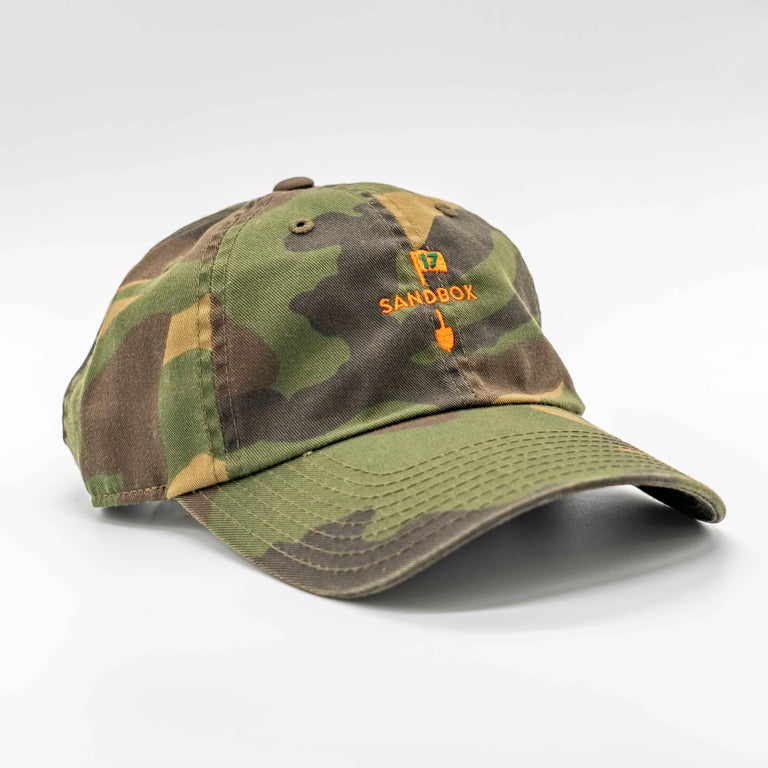 American Needle Adjustable Camo Cap - Sandbox