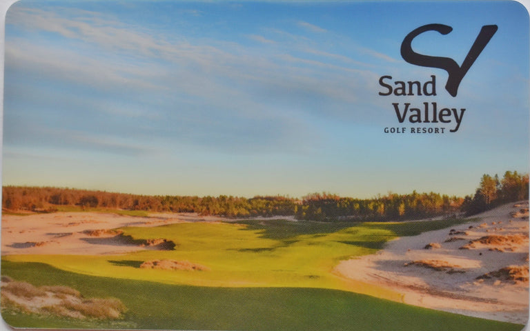 Sand Valley Gift Card