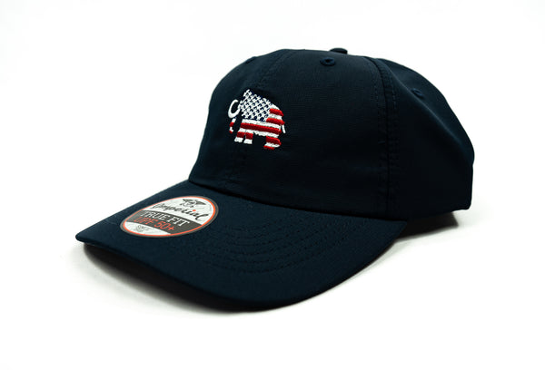 Imperial - Navy Adjustable Flag Hat