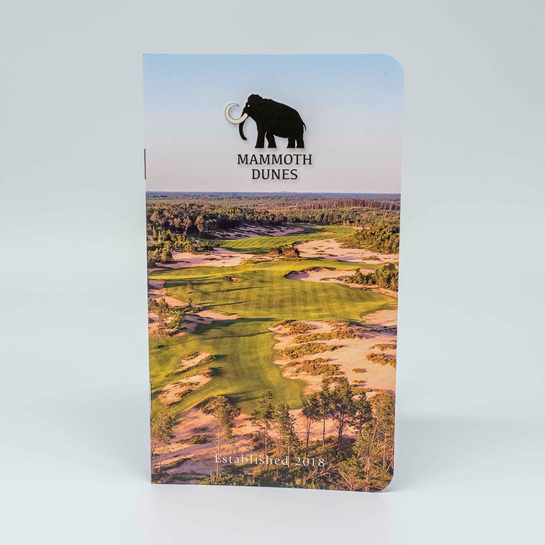 Yardage Guide - Mammoth Dunes