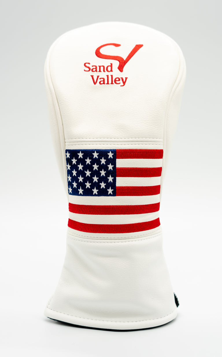 Sand Valley American Flag Headcover - Fairway