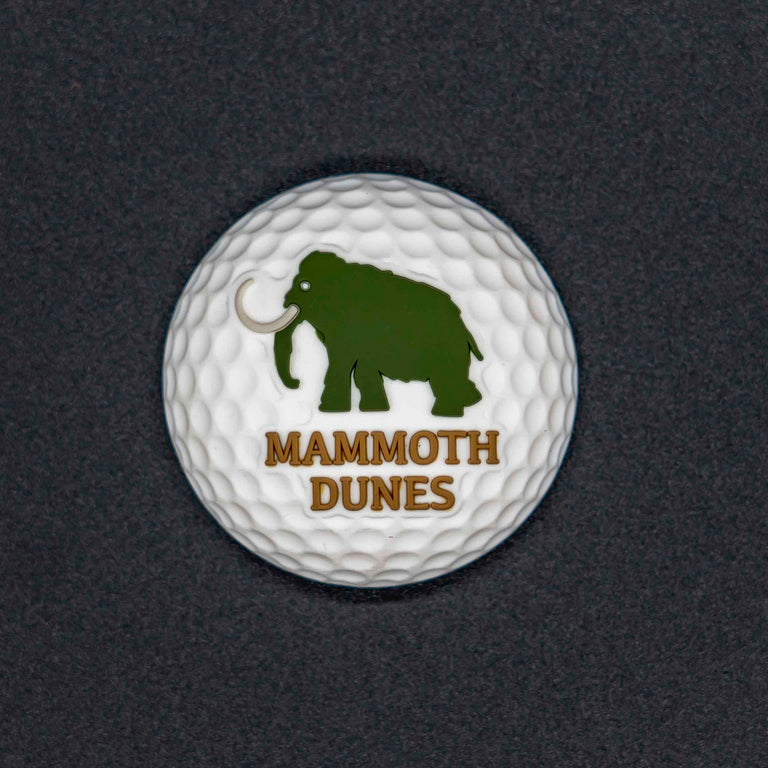 Golf Ball Magnet - Mammoth Dunes