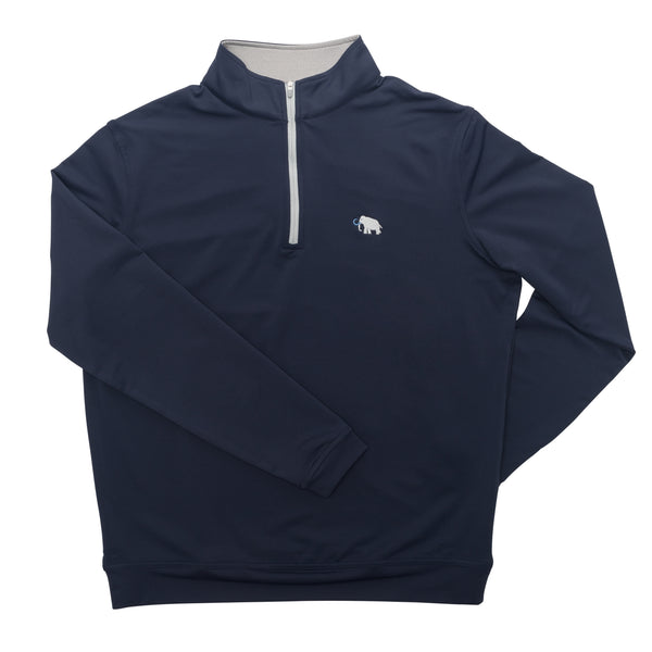 Peter Millar Stretch Loop Terry Quarter Zip