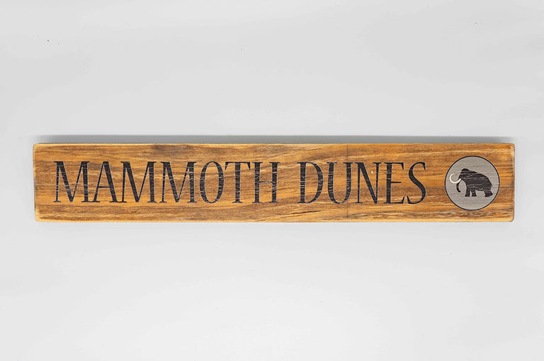 Mammoth Dunes Custom 3x18 Sign