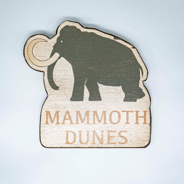 Mammoth Dunes Custom Cut Out Sign