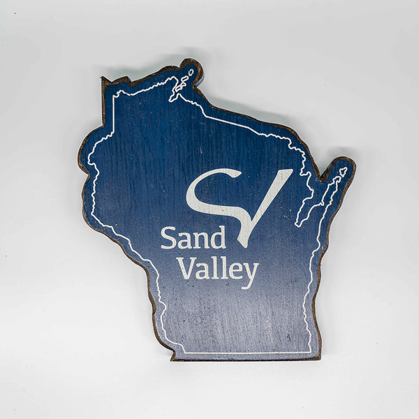 Sand Valley Custom Cut Out Sign