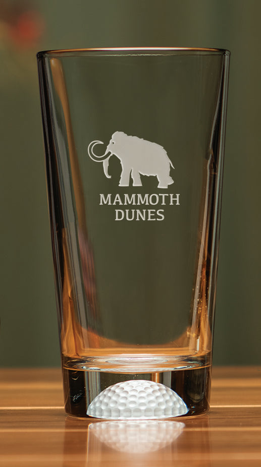 Mammoth Dunes Fore Ale Glass