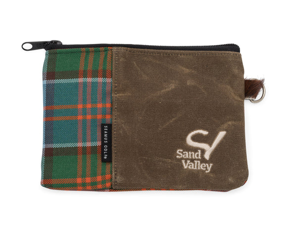Seamus Golf Zippered Pouch - Stewart of Appin Tartan