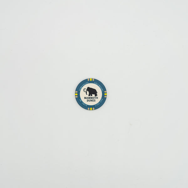 Mammoth Dunes Poker Chip