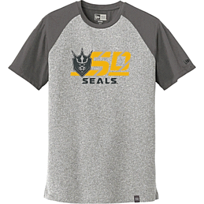 New Era Men's Heritage Blend Varsity Tee (Gray)