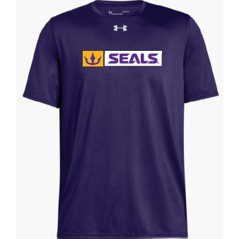 Under Armour Men's Purple Locker Tee