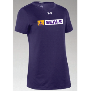 Under Armour Women's Purple Locker Tee
