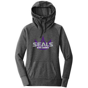 New Era Women's Triblend Fleece Pullover Hoodie