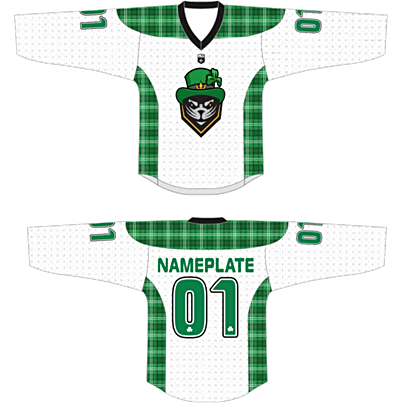 St. Patrick's Day Youth CUSTOM Jersey