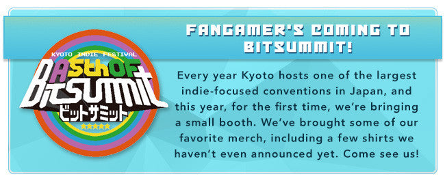 Fangamer's coming to Bitsummit!