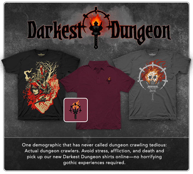 New Darkest Dungeon Collection at Fangamer.com