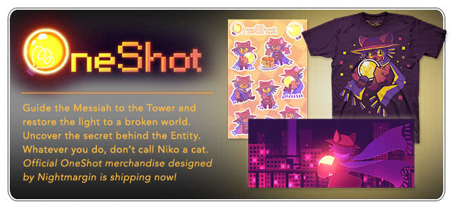 OneShot Merch at Fangamer.com