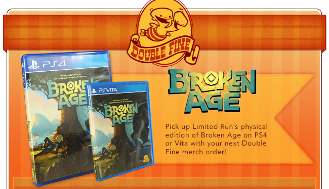 Broken Age available on PS4 or PS Vita on Fangamer.com