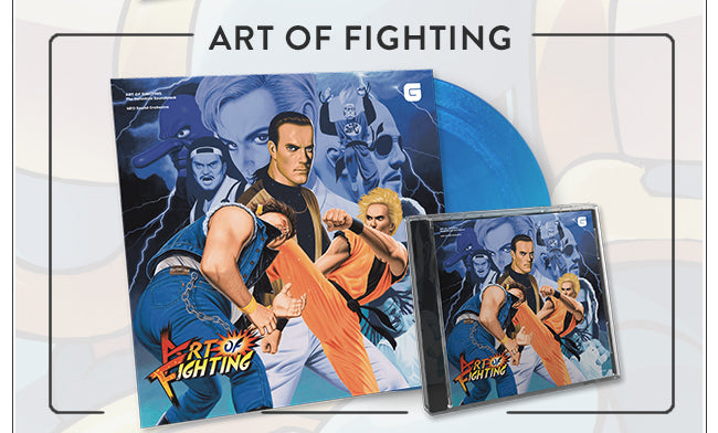 Art of Fighting Soundtrack Vinyl and CD at Fangamer.com