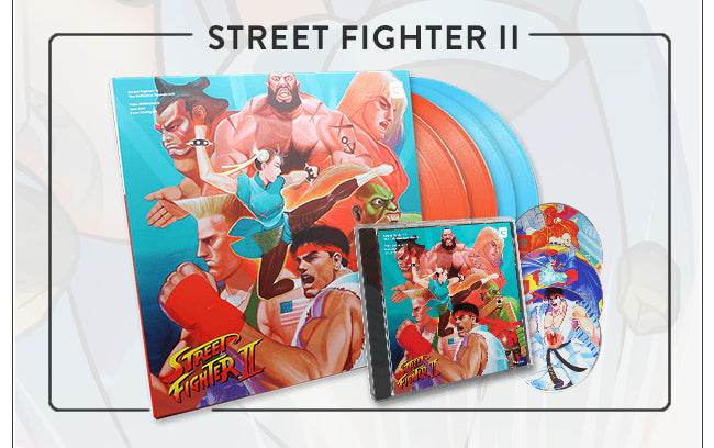 Street Fighter 2 Soundtrack Vinyl and CD at Fangamer.com